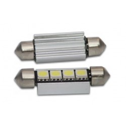 Pair 42mm 4 SMD Canbus Festoon