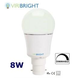 Viribright 8w B22 dimmable bulb