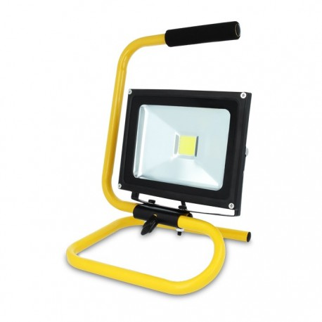 20w LED WORK LIGHT With Stand, Water Resistant