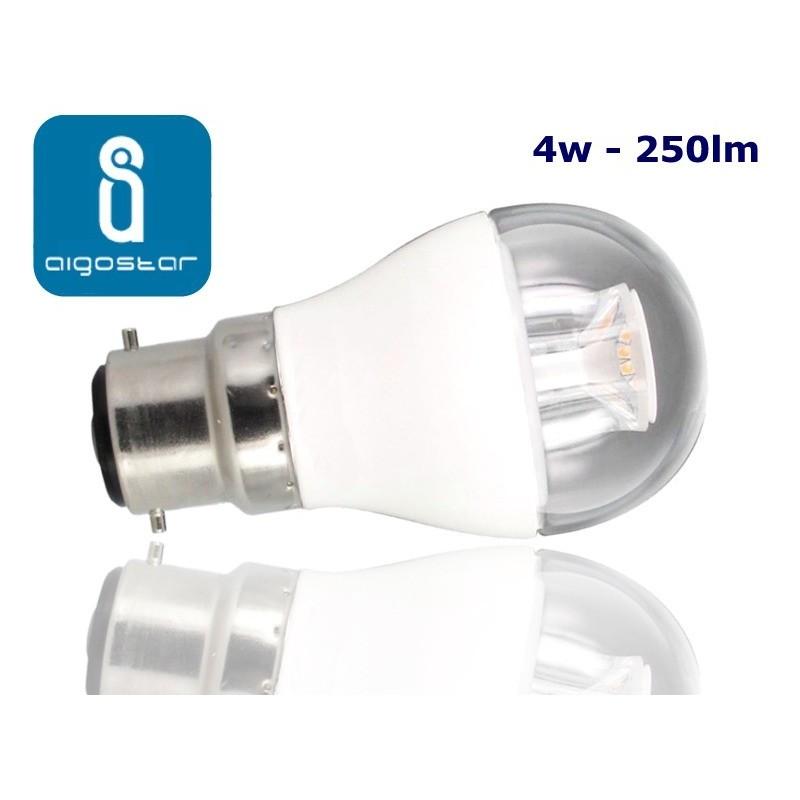 4w B22 LED Golf Ball bulb Warm White