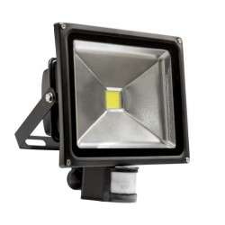 30w Warm White floodlight with sensor