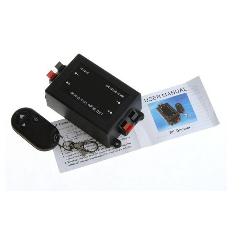 12v led dimmer switch with remote control