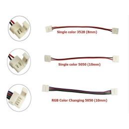 LED Solderless Strip Connector