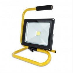 30w LED WORK LIGHT With Stand, Water Resistant