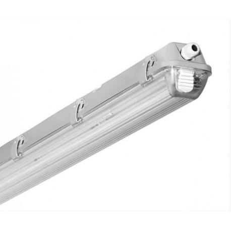 Single 5' (1500mm) Hermetic Fixture with LED Tube