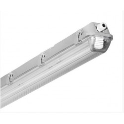Single 4' (1200mm) Hermetic Fixture With LED Tube
