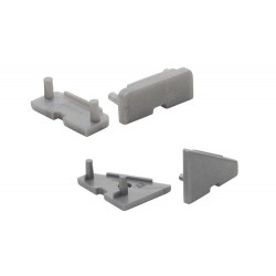 End Plugs for Flat, Groove and Angled Alu Profile (2pack)
