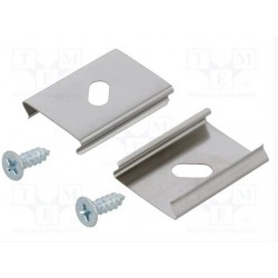 Alu Profile Mounting Clips (2 pack)