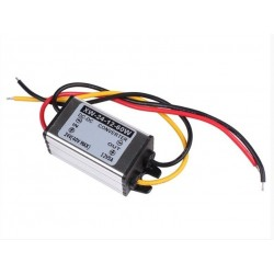 Waterproof Car Truck DC 24V(14-40V) To DC 12V 5A 60W Converter