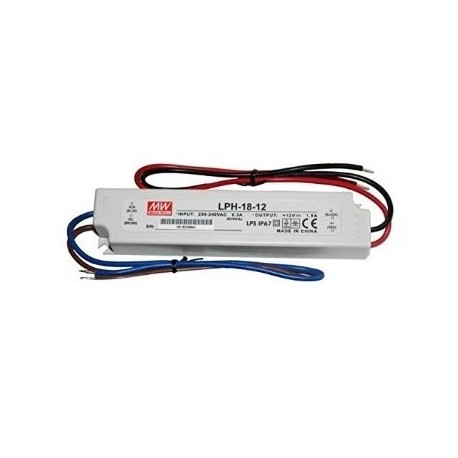 Meanwell 18w 12v Driver