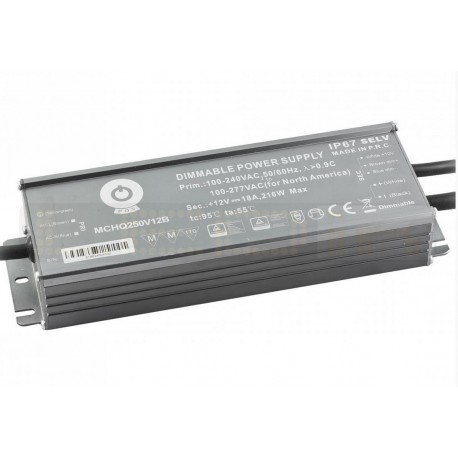 12v 216w 3 in 1 Dimmable Power Supply Waterproof