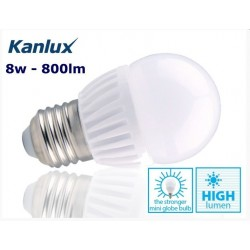 Kanlux BILO HI 8w Bright E27 Golf Ball Warm White
