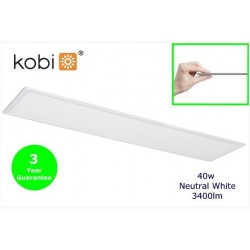 Kobi NELIO LED Panel 1200 x 300mm 40w