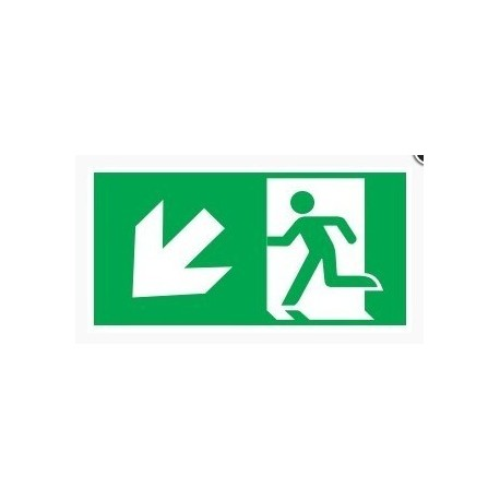 Pictograms for Oximia and Kasjopeja Emergency Exit Luminairs