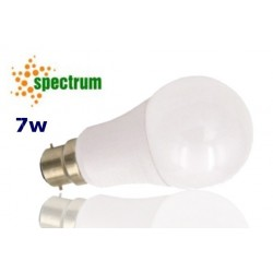 Spectrum LED SMD 7w B22 Warm White