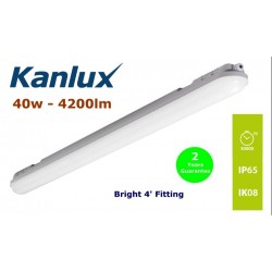 Kanlux MAH 40w 4' LED Fitting