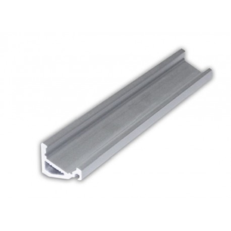 1m Alu Profile for LED Strip - Comes with click in lens - Angle