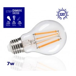 Step Dim E27 LED Filament Bulb