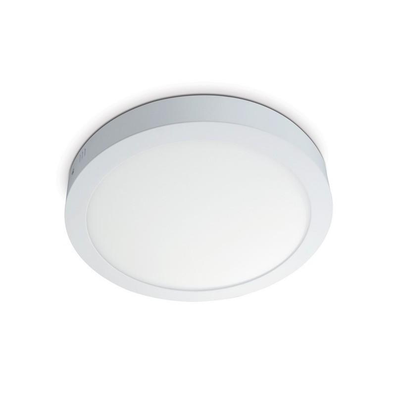 SIGARO 18W Surface Mount Round Panel - Neutral White