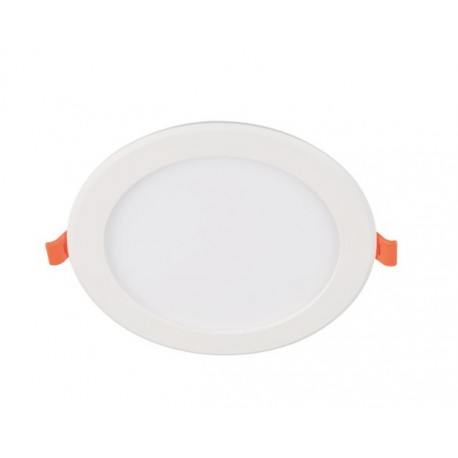12w Recessed Round Panel - Optional Surface Mount Frame