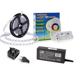 Quality 5m RF RGB+WW LED Strip Kit