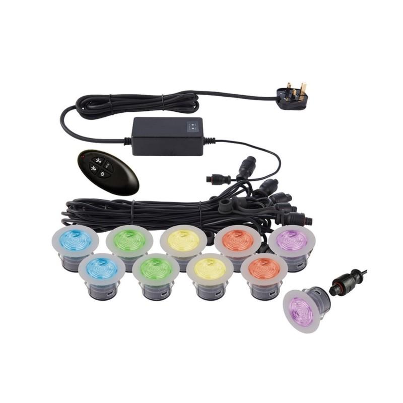 IkonPRO 45mm kit Waterproof Colour Changing Decking Kit