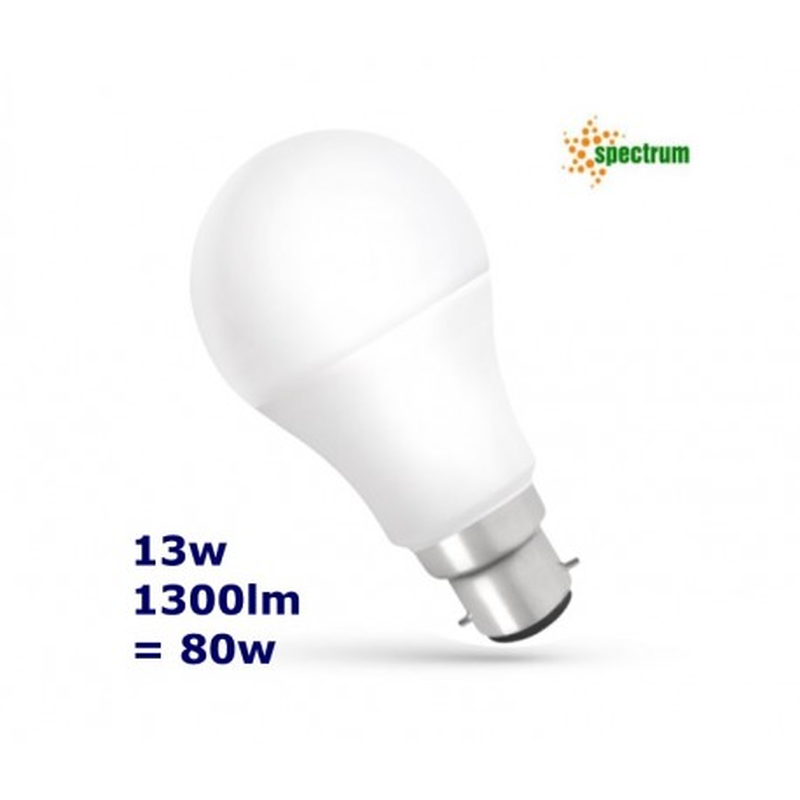 B22 13w LED Bulb ColdWhite