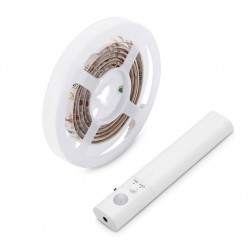 Battery Operated LED Strip with Movement detector