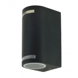 Exterior Wall Light QUAZAR 9 GREY