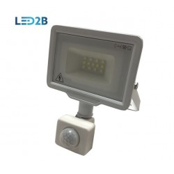 KOBI 10W FLOODLIGHT WITH SENSOR - Cool White