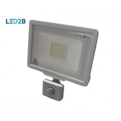 KOBI 30W FLOODLIGHT WITH SENSOR - Cool White