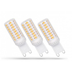 3 Pack - LED G9 230V 4W WW DIMMABLE