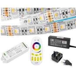 Quality 5m RF RGB+WW LED Strip Kit