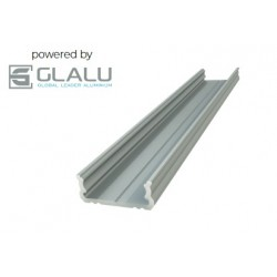 Glalu 1m Surface Profile with opaque polycarbonate lens