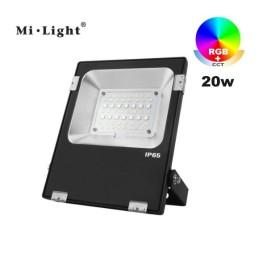 Floodlight RGB+CCT 20W 230VAC FUTT04