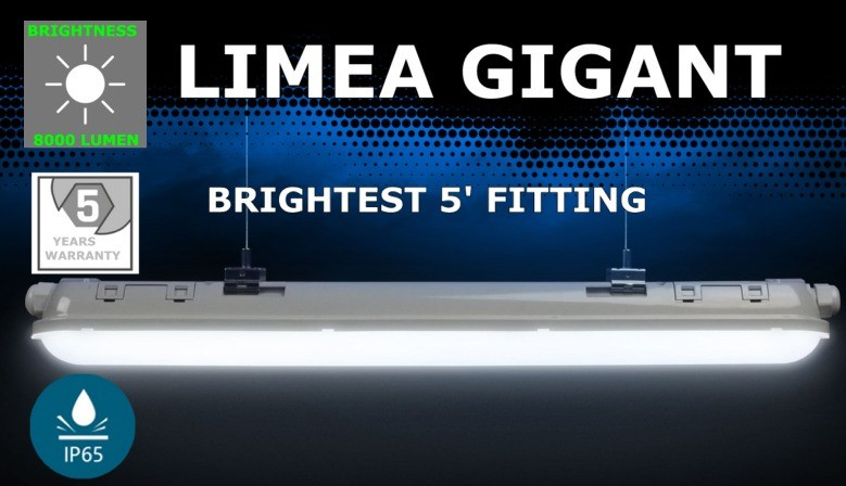 Brightest LED Flourescent fitting