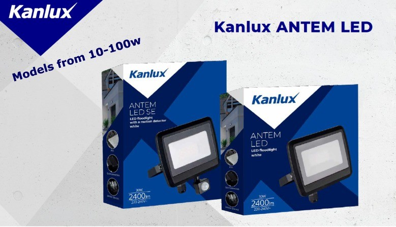 New Antem Floodlights