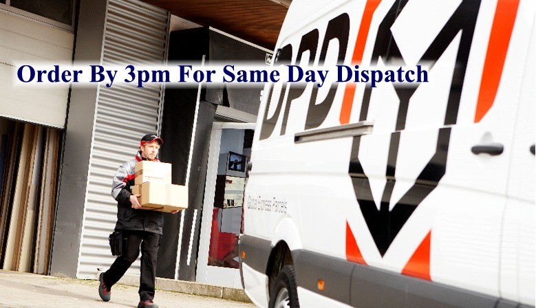 Order by 3pm for same day dispatch