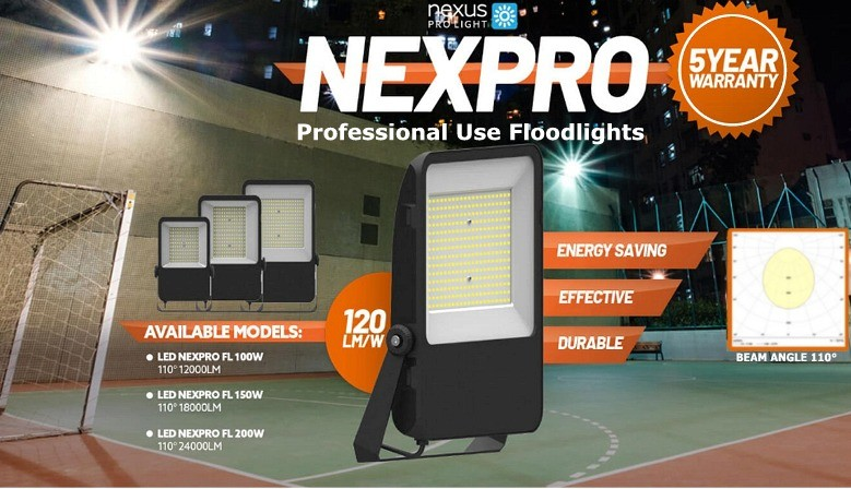 High Power Professional Floodlights